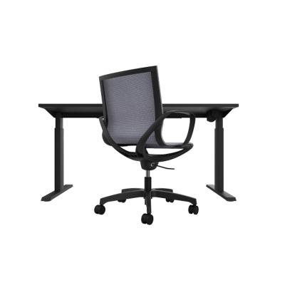 Kancelářský set stůl a židle - MYDESK BLACK