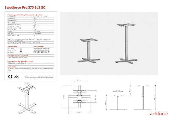Steelforce Pro 370 SLS SC