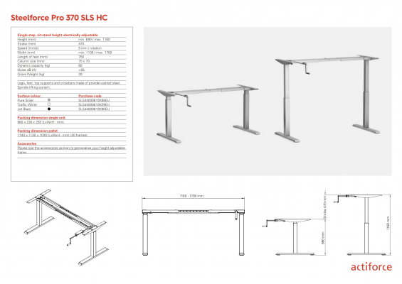 Steelforce Pro 370 SLS 90°