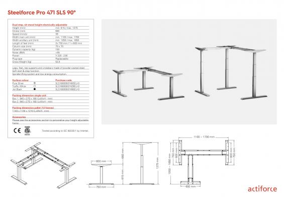 Steelforce Pro 471 SLS 90°