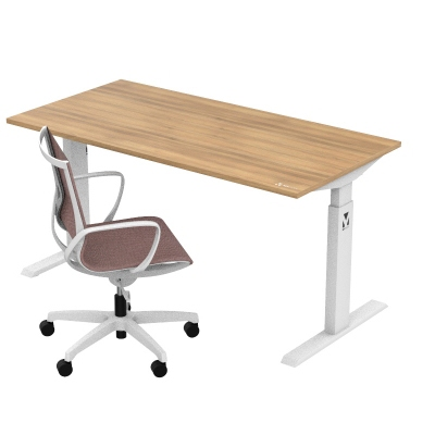 Kancelářský set stůl a židle - MYDESK OAK