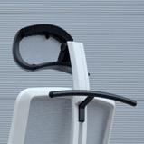 Záhlavník s věšákem 022 černý