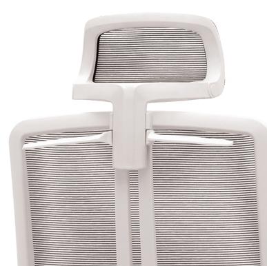 Záhlavník s věšákem 022 bílý